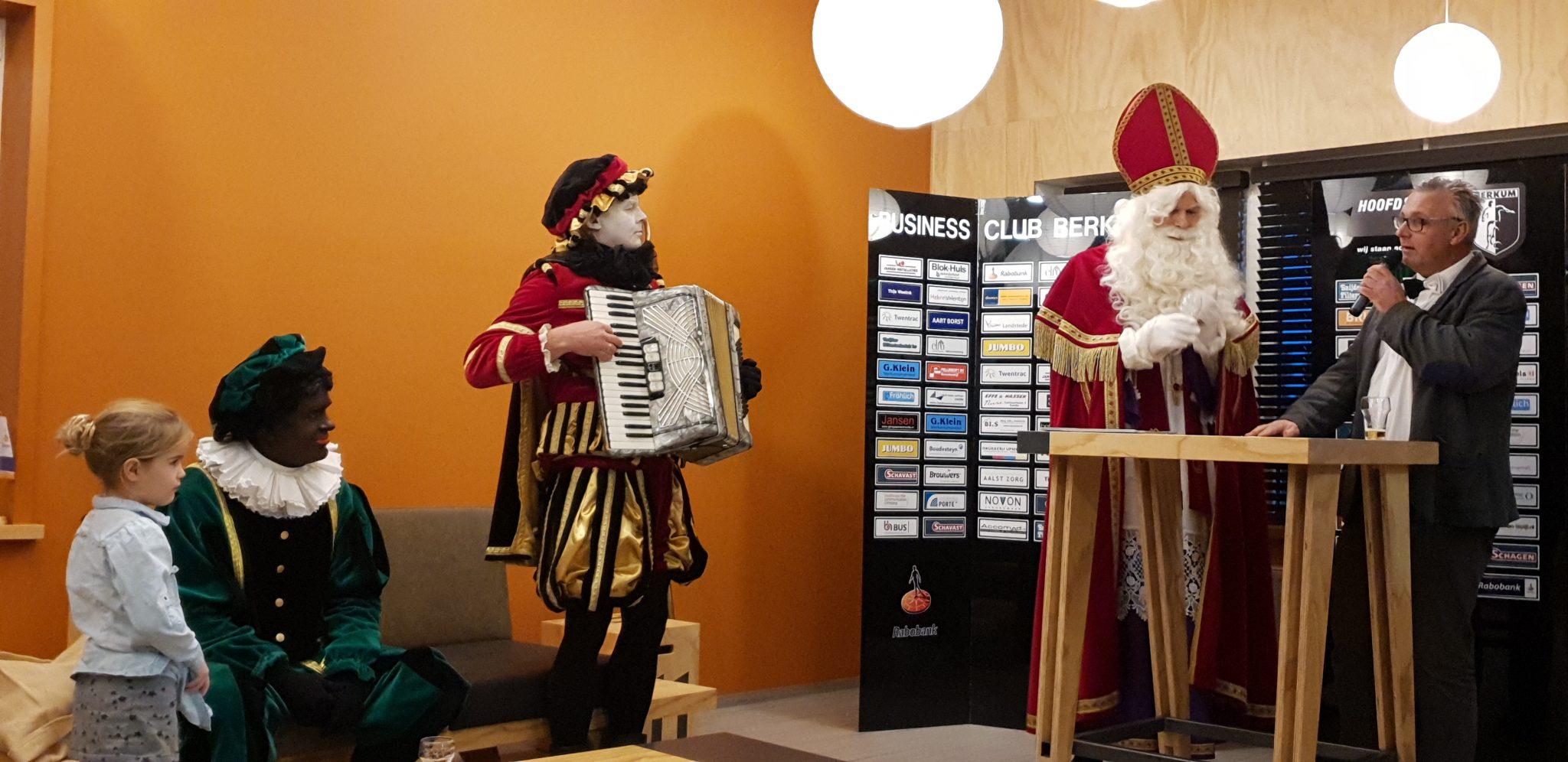 Sinterklaas in de Businessruimte op 23-11-2019
