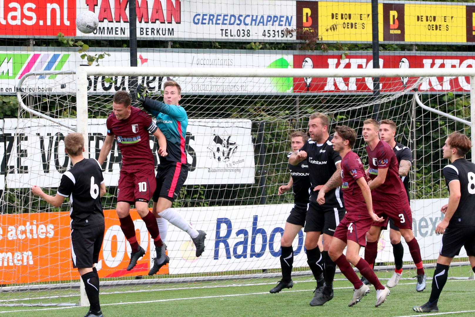 Berkum laat twee punten liggen tegen AZSV