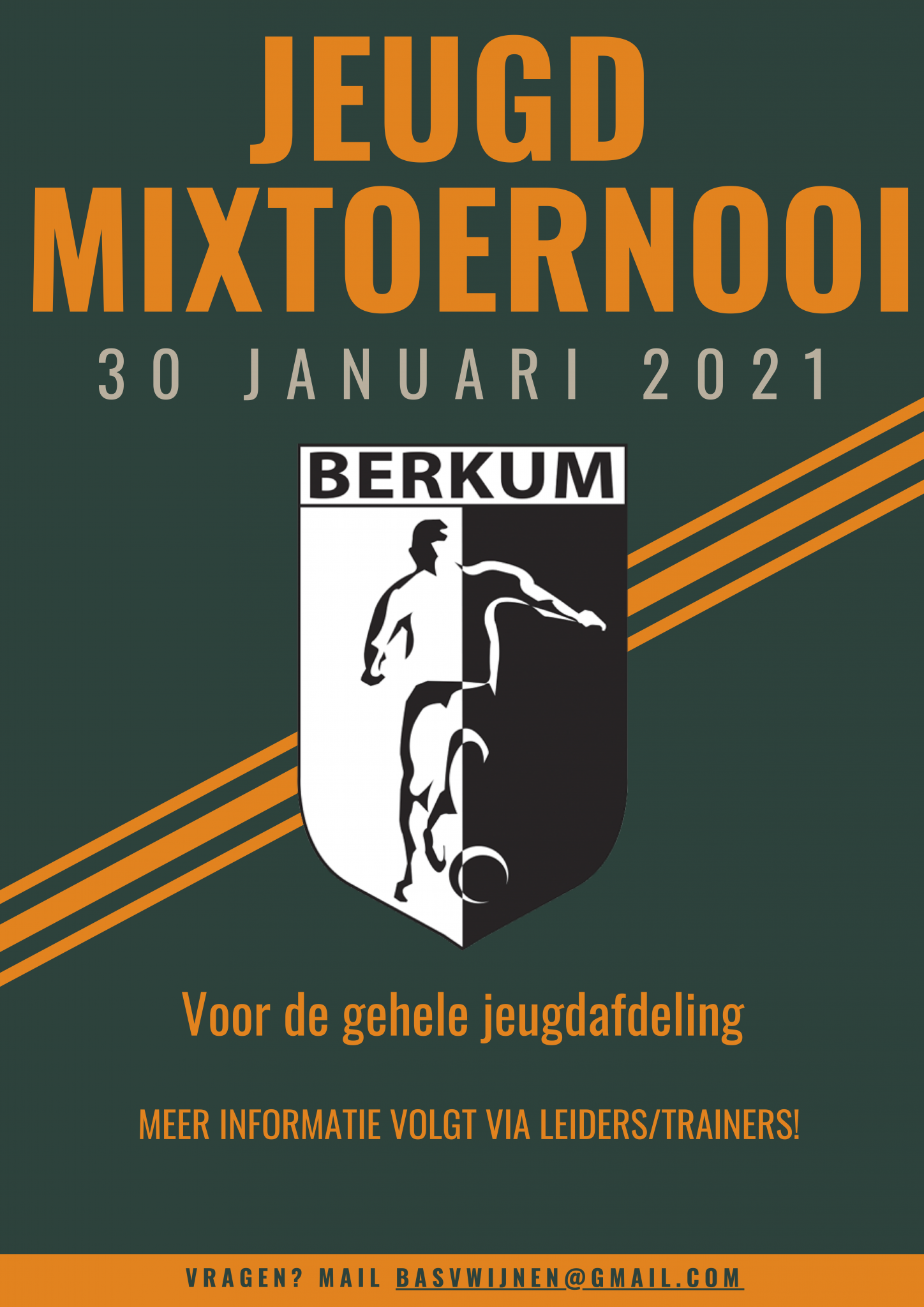 Jeugd mixtoernooi 30 januari